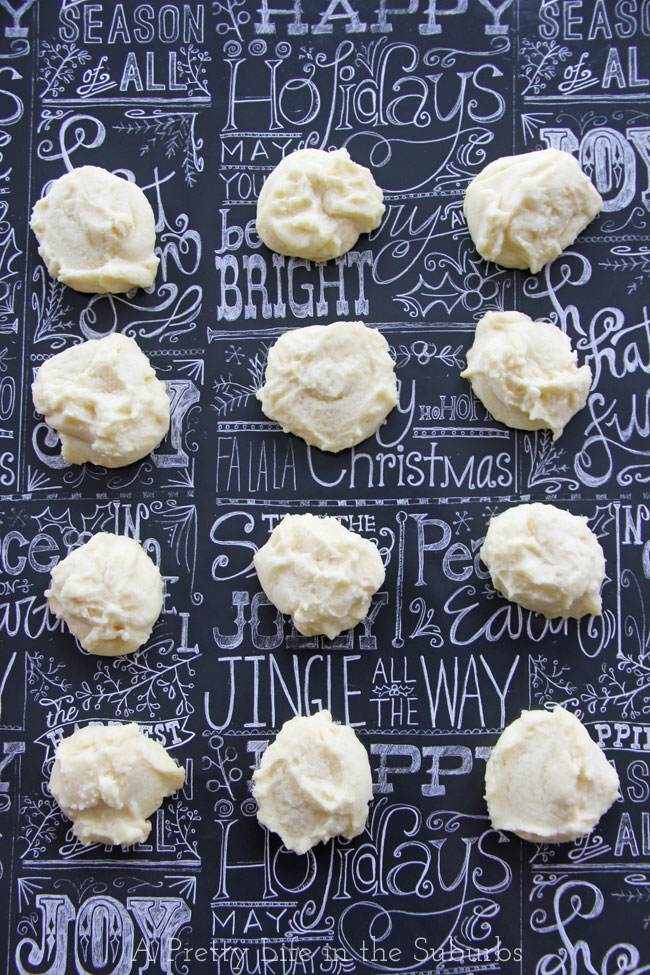 Whipped Shortbread {A Pretty Life}