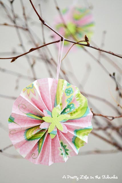 Paper Accordion Flowers