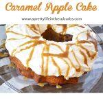 Caramel Harvest Apple Cake A Pretty Life In The Suburbs