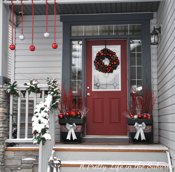 My Festive Front Porch