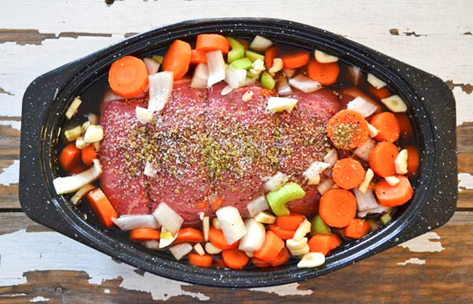 The Perfect Pot Roast. Simple to make, tender and so delicious!