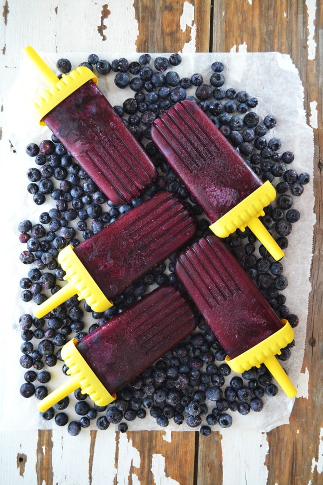 Fresh Fruit Juice Popsicles