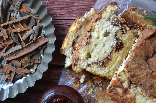 Cinnamon Swirl Loaf {A Pretty Life}