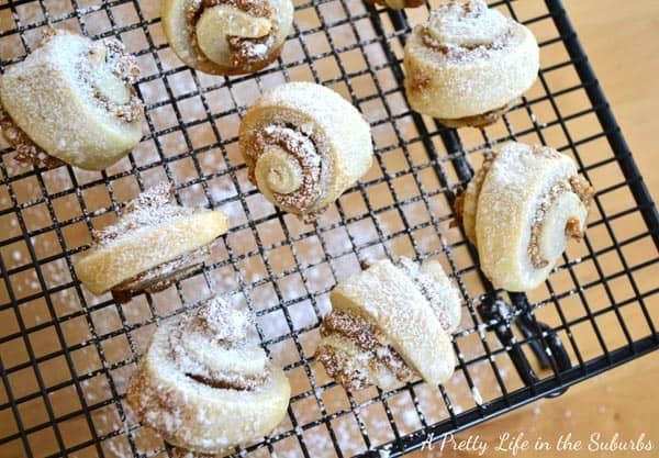 Apricot Pecan Rugelach
