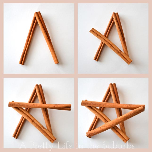 Cinnamon Star Ornaments