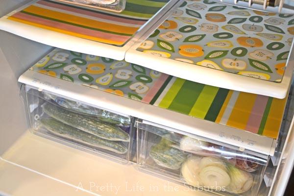 fit fridge shelf diy test liners