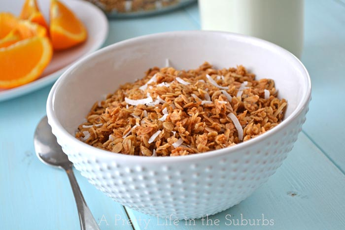 Coconut Honey Granola