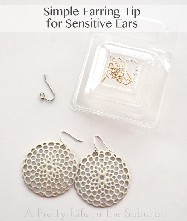 what of earrings for sensitive ears simple earring tip for sensitive ears a pretty in 6846