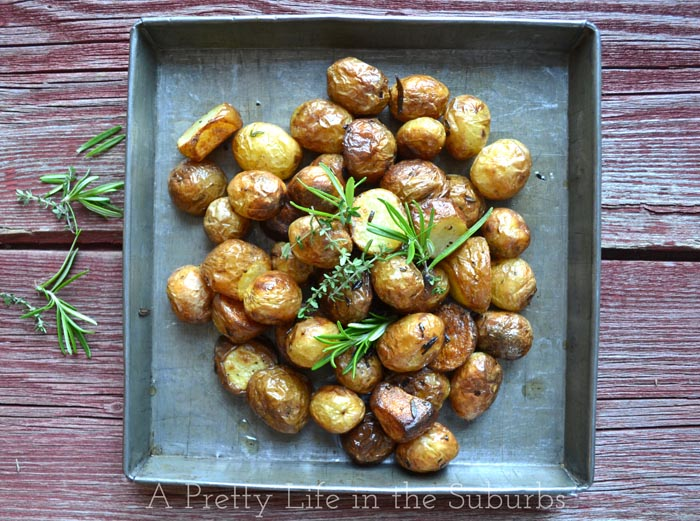 Oven Roasted Herb Potatoes