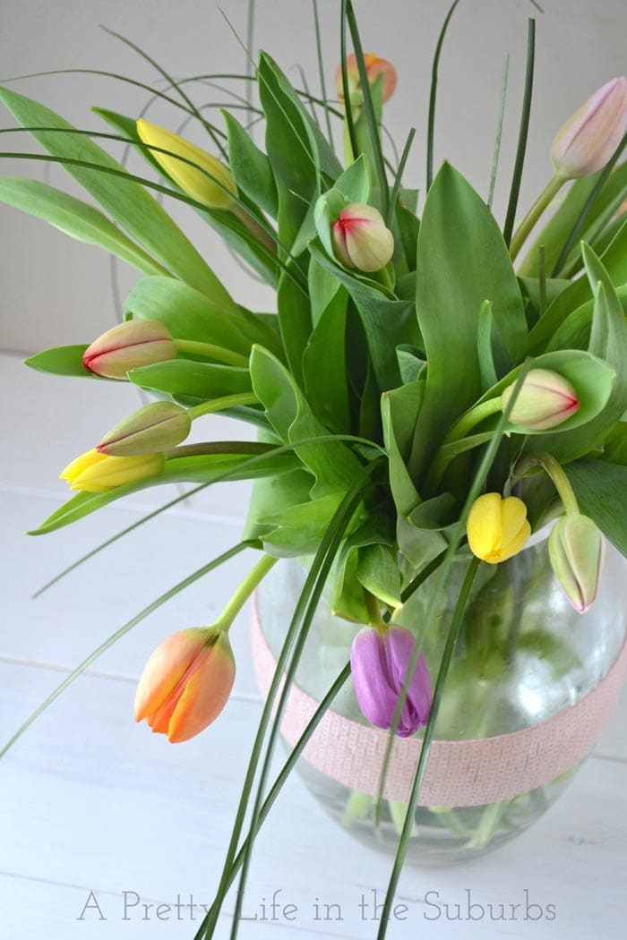 The Easiest Spring Bouquet Ever