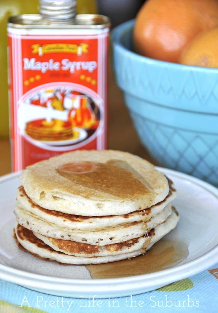 Wheat Free Buttermilk Pancakes