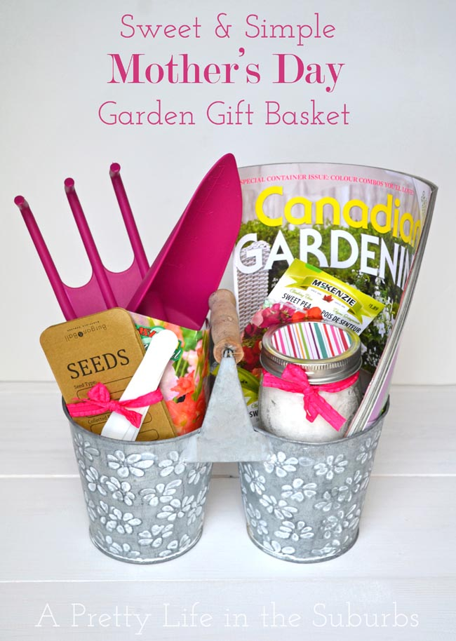 garden gift basket. Sweet \u0026 Simple Mother\u0027s Day Garden Gift Basket