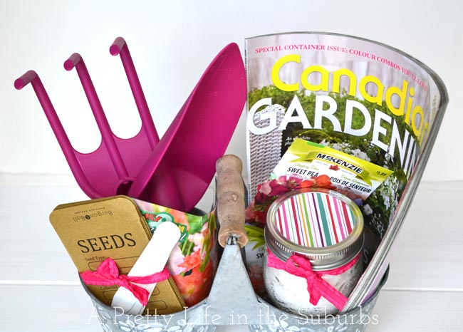 Sweet Simple Mother 39 S Day Garden Gift Basket A Pretty