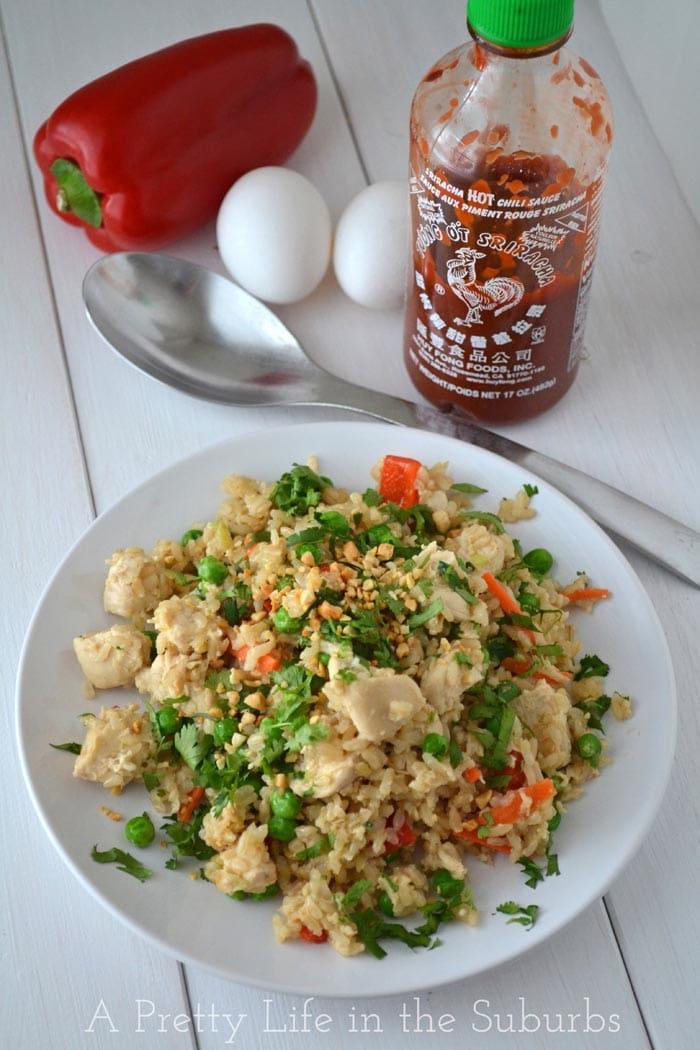Thai Stir Fried Rice