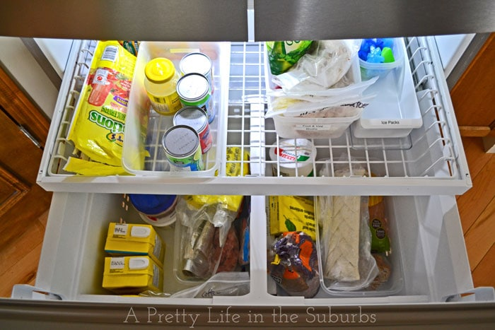Organizing My Life With The Frigidaire Gallery 174 French
