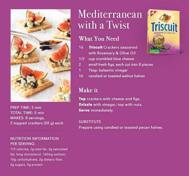 Mediterranean-Dip-Triscuit