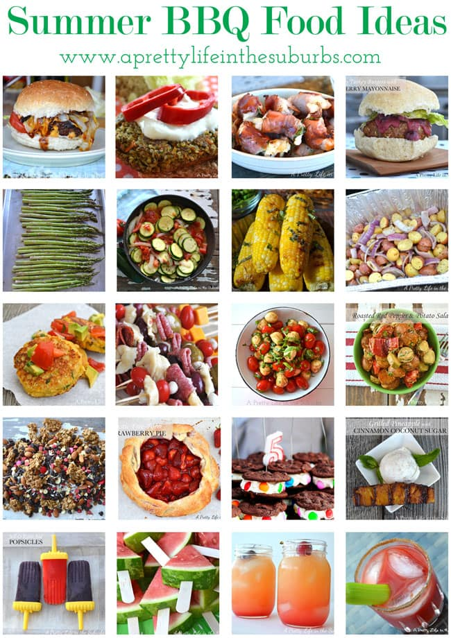 Summer BBQ Food Ideas