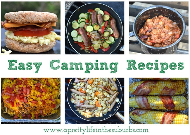 Easy Delicious Camping Recipes