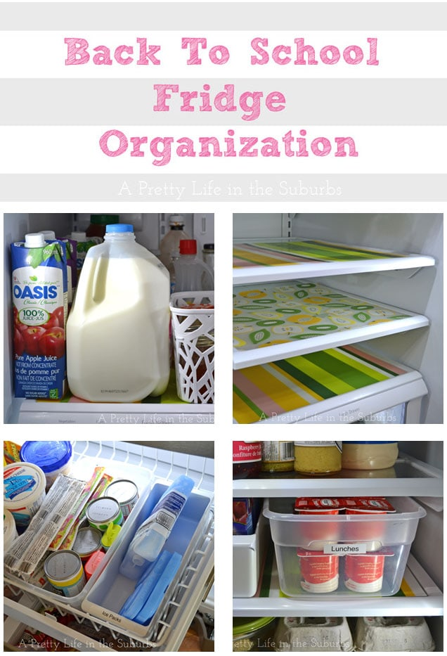 10 Tips to Organize Your Fridge for Back to School!