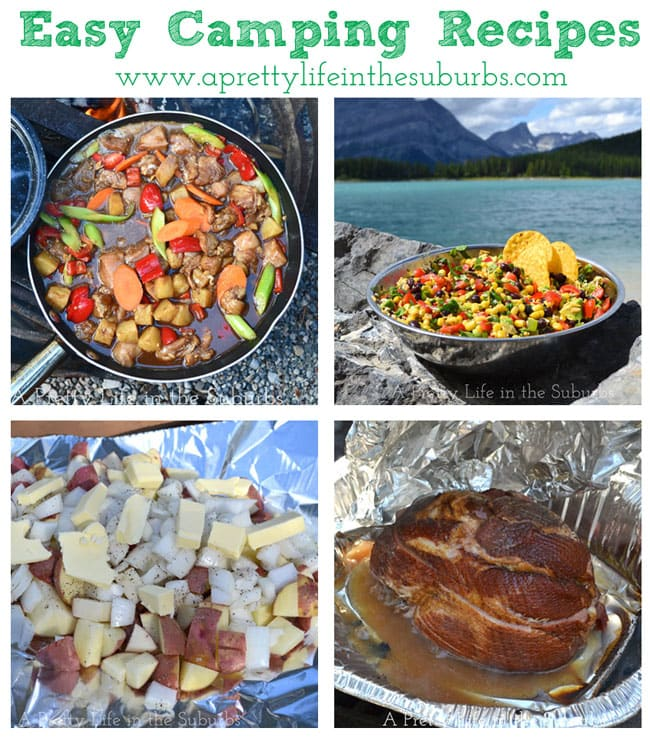 Easy Camping Recipes {A Pretty Life}