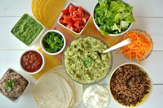 A Mexican Fiesta! A simple & delicious feast for any night!