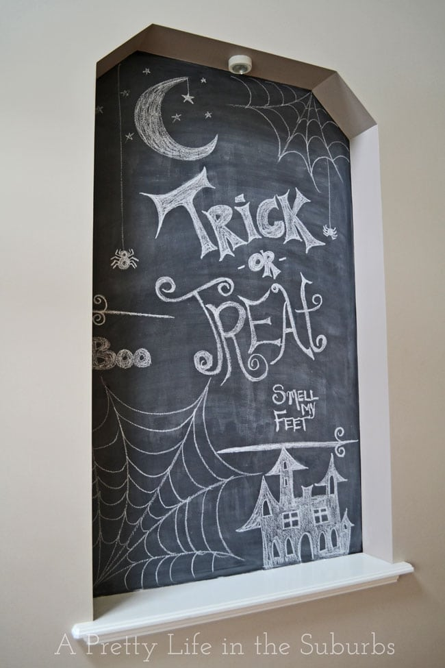 Halloween-Chalk-Art-{A-Pretty-Life}