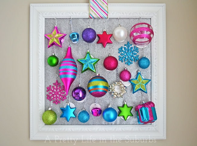 diy ornament advent calendar a pretty life - Countdown Till Christmas Decoration