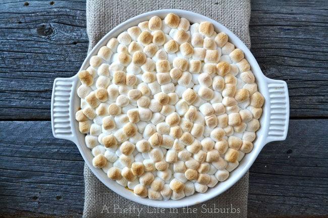 Sweet Potato Casserole {A Pretty Life}