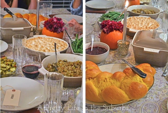 Thanksgiving Dinner {A Pretty Life}