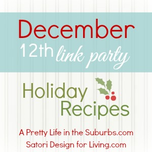 December Holiday Recipes Link Party_300
