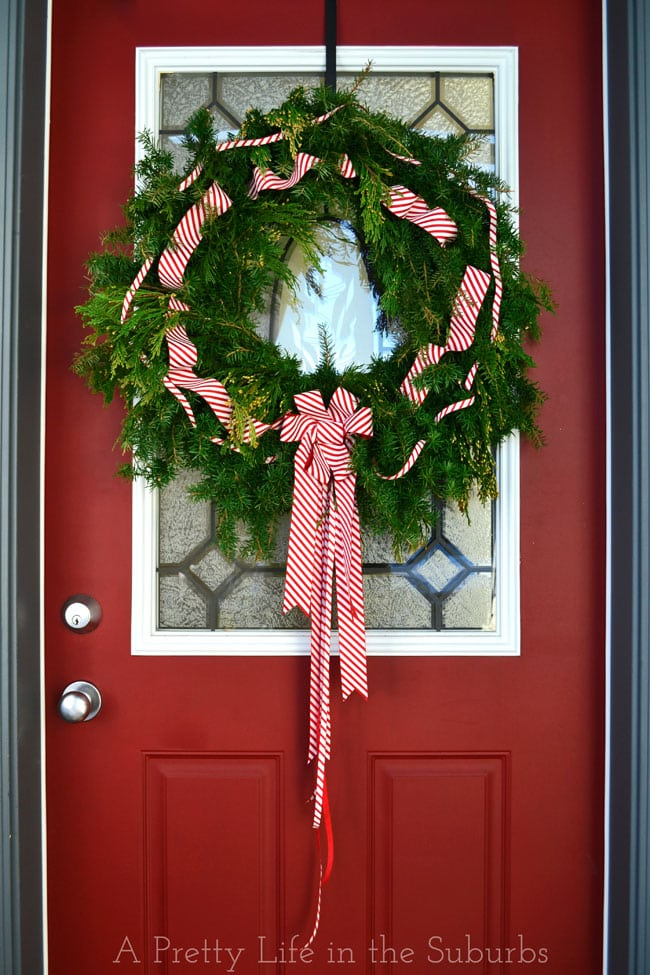 Fresh-Evergreen-Wreath-Tutorial-{A-Pretty-Life}5