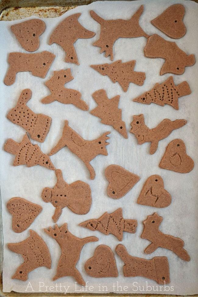 Cinnamon Salt Ornaments
