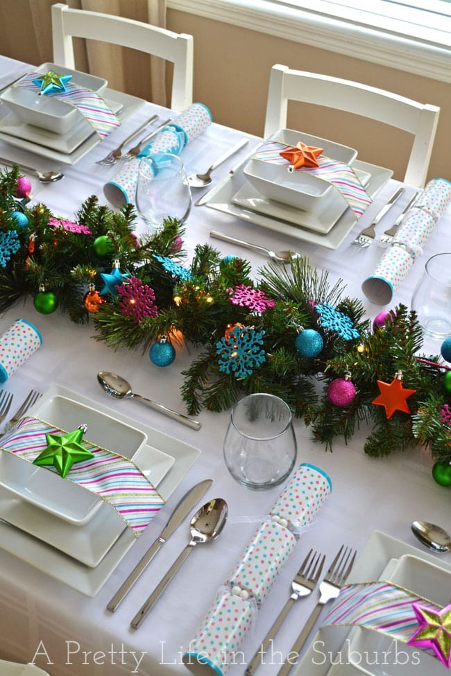 Colourful-Christmas-Table-Setting-8{A-Pretty-Life}