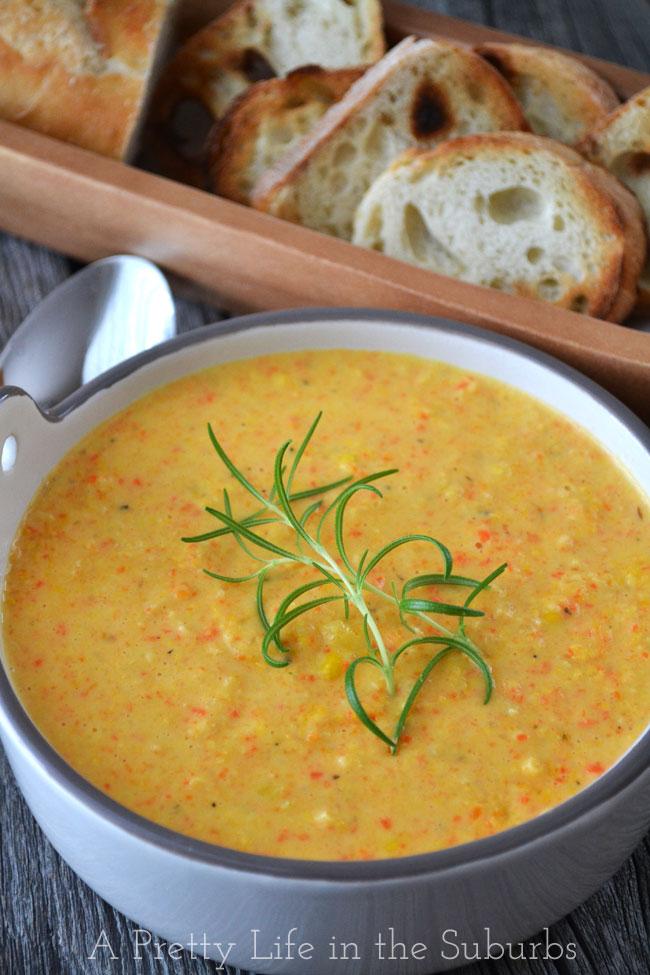 Creamy-Corn-Bisque-{A-Pretty-Life}