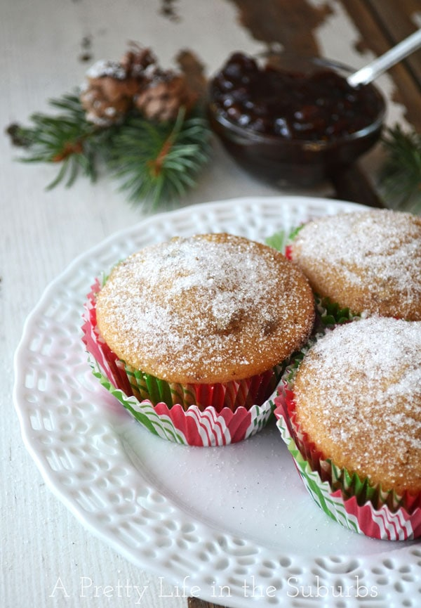 Mincemeat Muffins {A Pretty Life}