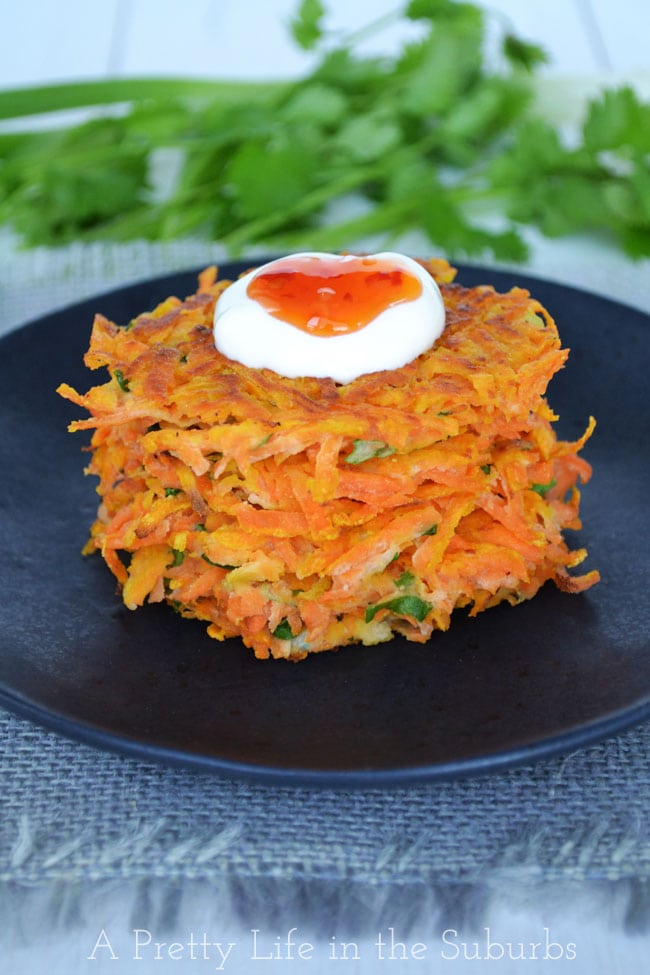 Thai Sweet Potato Latkes
