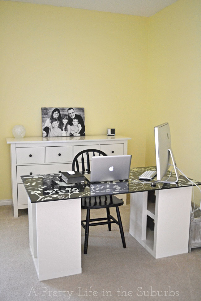 Office-Makeover-{A-Pretty-Life}