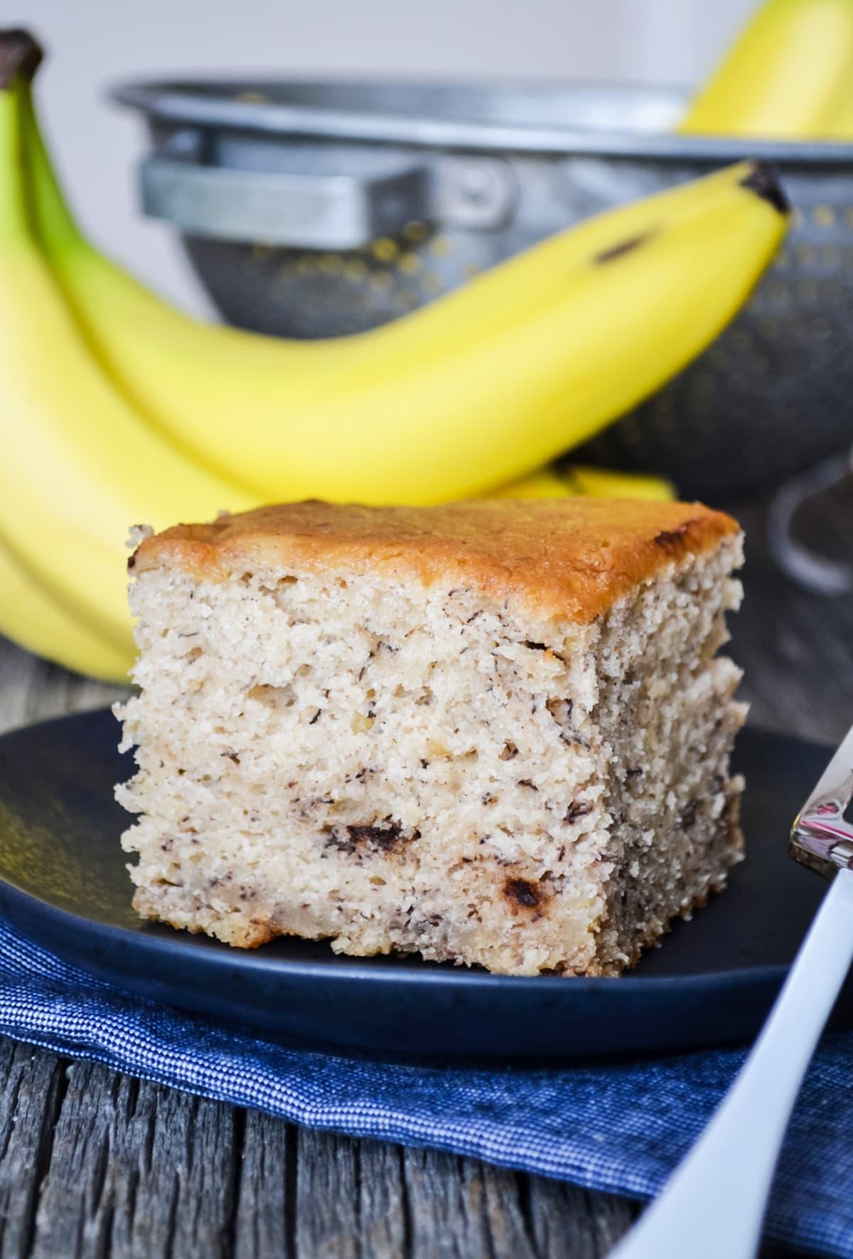 Banana Bread Sheet Cake Recipe