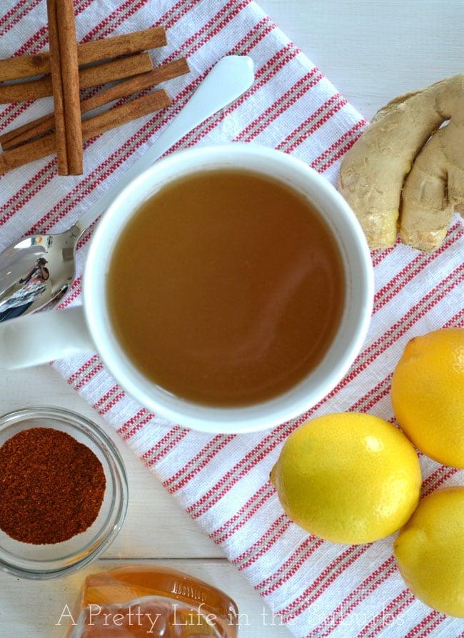 Home Made Ginger Tea Recipe