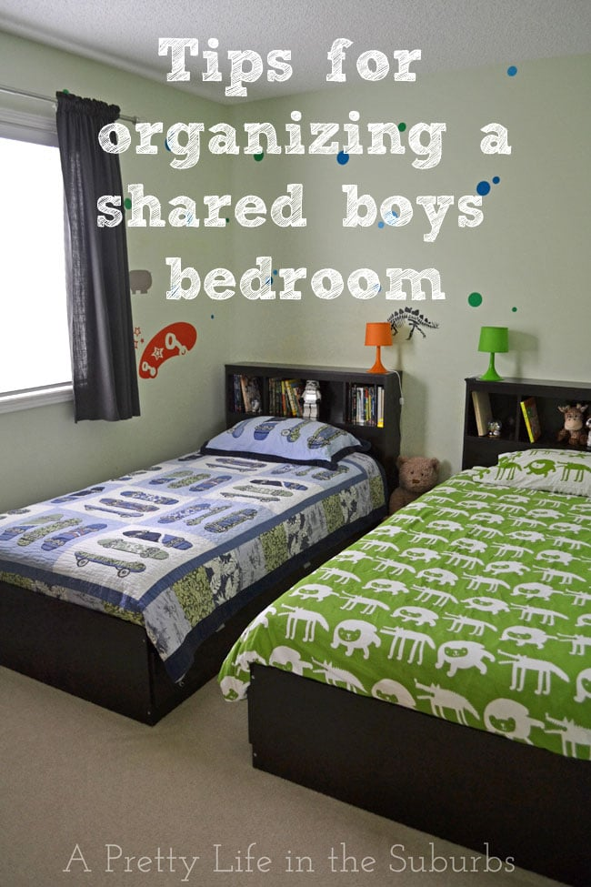 organizing ideas for bedrooms organizing a shared boys bedroom a pretty in the 16576
