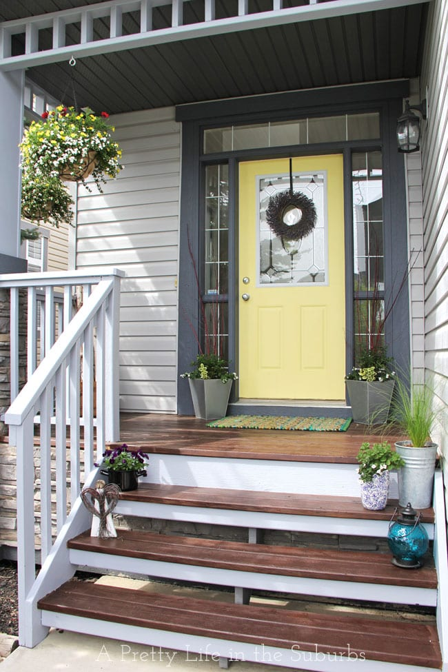 My Front Porch Makeover Reveal A Pretty Life In The Suburbs