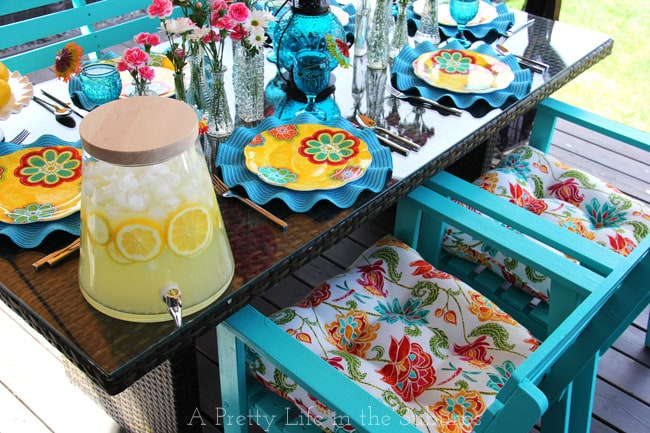 Pier1 Outdoor Party {A Pretty Life}