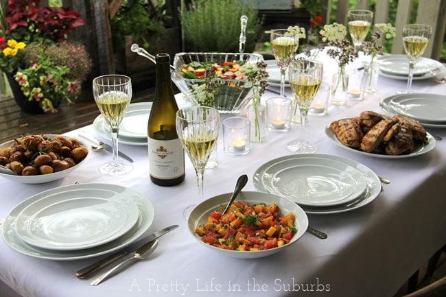 Garden Wine Party