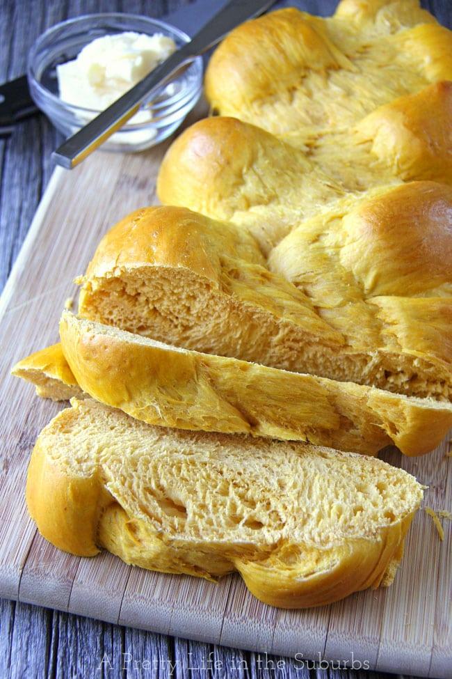 Braided Pumpkin Bread {A Pretty Life}