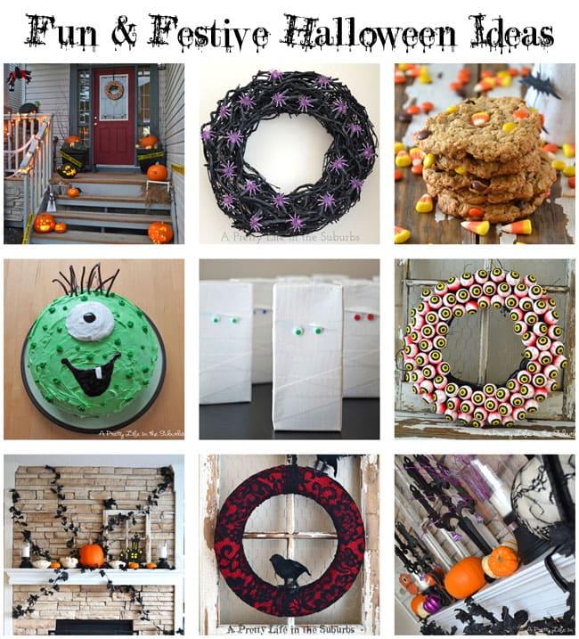 Fun & Festive Halloween Ideas {A Pretty Life}