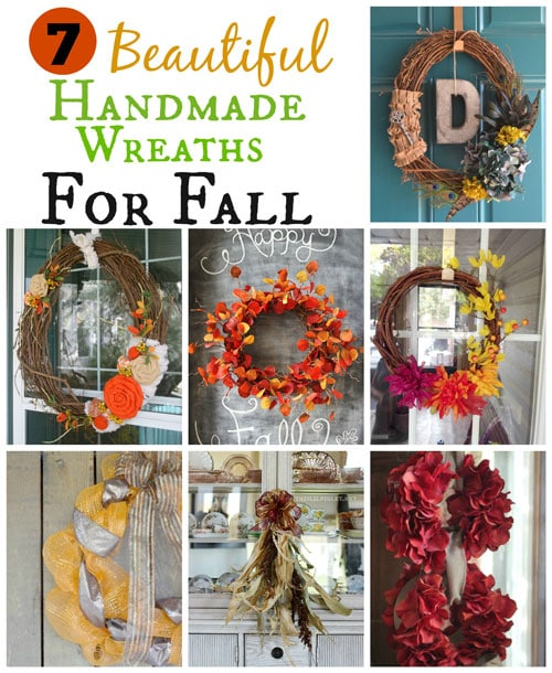 7 Handmade Wreaths For Fall