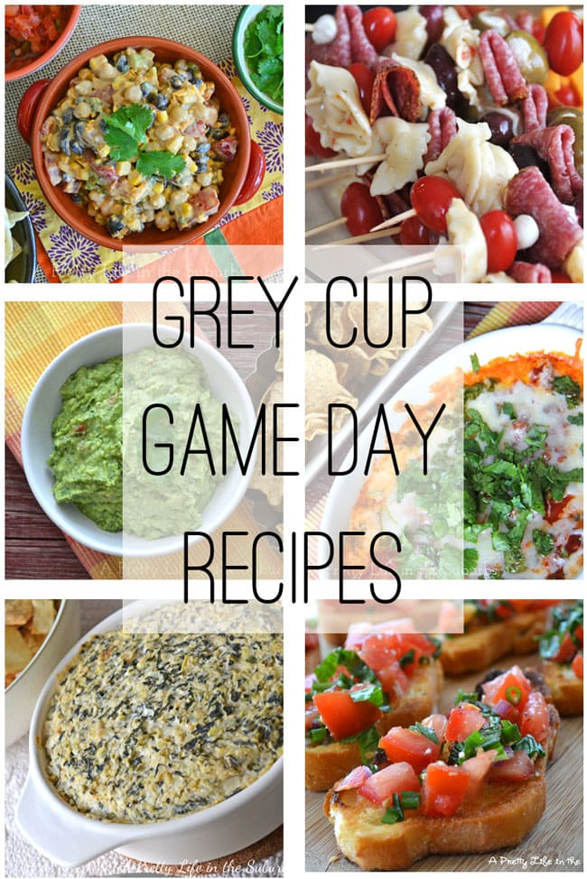 Grey Cup / Game Day Recipes