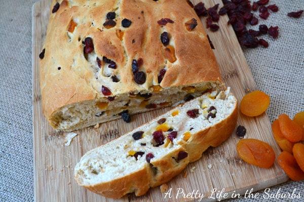 Fruit & Berry Christmas Bread