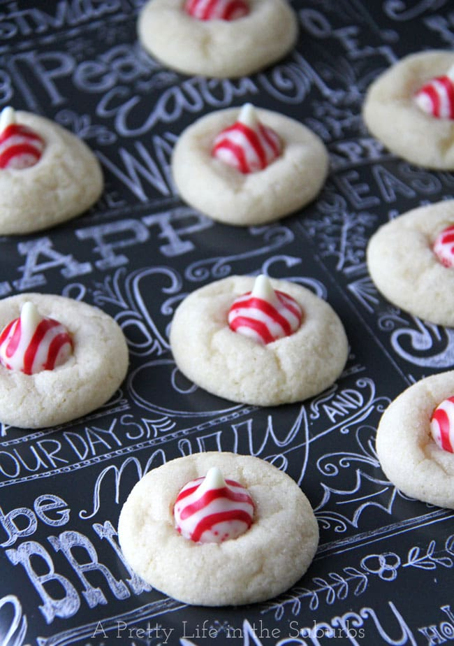 Peppermint Kiss Sugar Cookies A Pretty Life In The Suburbs