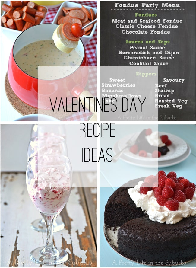 Valentines Day Recipe Ideas